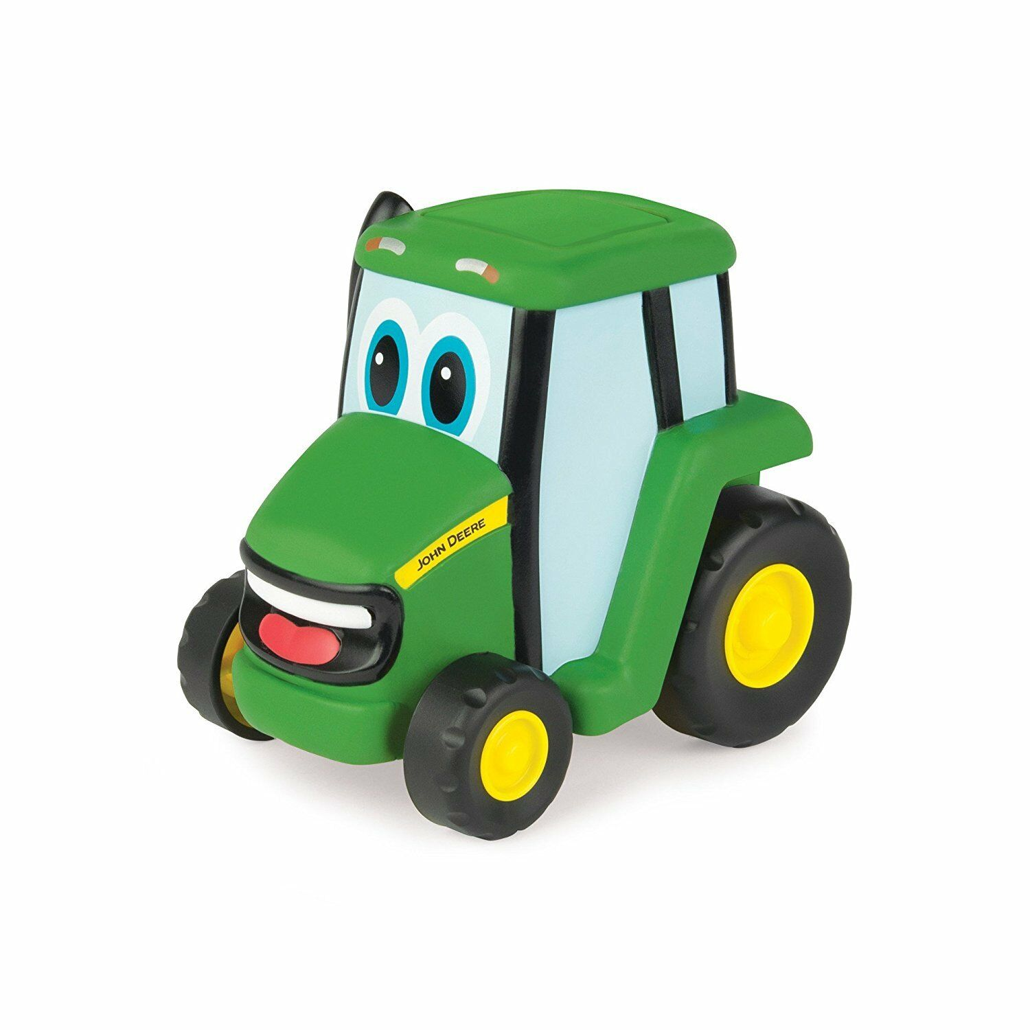 NEW John Deere Johnny Push 'N' Roll Tractor, 2 Ways to Play, Ages 18M+(LP67305)
