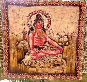 Tenture Kali Déesse Hindouisme Hindouiste Divinité Indienne Inde Objet