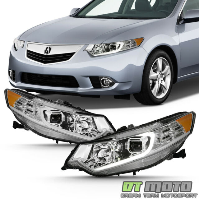 For 2009-2014 Acura TSX [HID Model] Black Projector