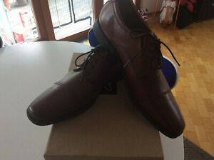 Nuovo Uk Brown Shoes Clarks 10 44 Gr Business gw0AqpqB7