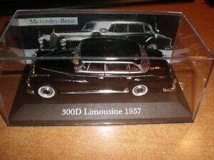 MERCEDES-300-D-LIMOUSINE-1957-IXO-ALTAYA