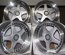"18"" SILVER DR-F5 ALLOY WHEELS FITS RENAULT VOLVO MERCEDES BENZ 5X108 ONLY"