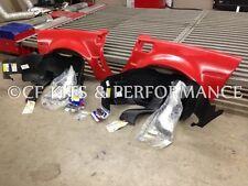 05-13 C6 Corvette Complete Stage 2 Rear Quarter Panels Extreme Wide Body Kit