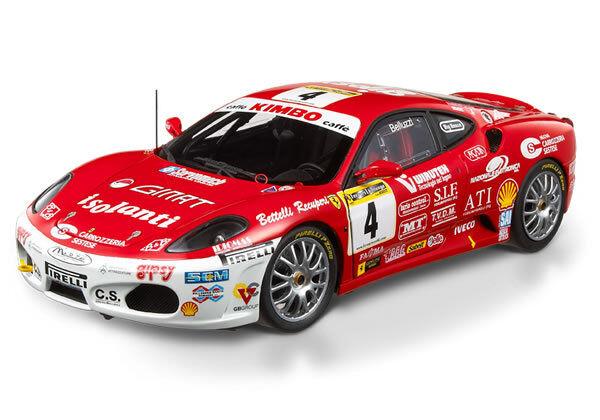 2006 ferrari f430 challenge trofeo pirelli italien   4 von hot wheels elite 1,18