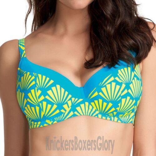 Freya Swimwear Fame Sweetheart Padded Bikini Top Lime Fizz 3506