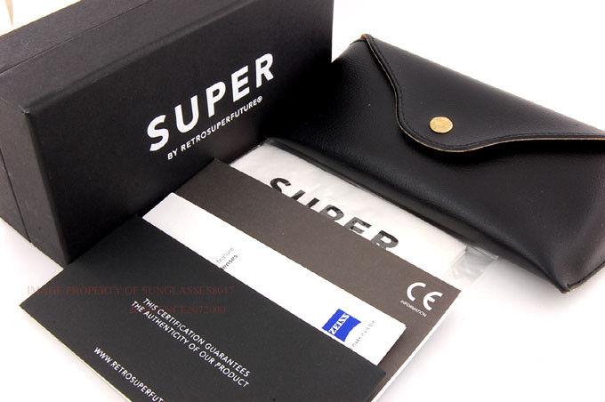 Neu Neu Neu Super By Retrosuperfuture Sonnenbrille Terrazzo JA5   Schwarz Graue Linse  | Qualitativ Hochwertiges Produkt  | Die Qualität Und Die Verbraucher Zunächst  | Bestellung willkommen  a6b4b9