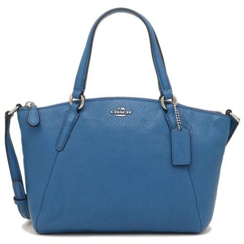 azul Authentic bandolera bolso Nwt Coach bandolera SCqwnxCTFg