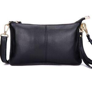 Frauen-Luxus-Taschen-Vegan-Leder-Schulter-Kette-Kreuz-Koerper-Messenger-Handtaschen