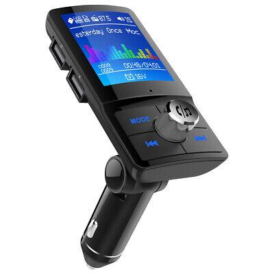 UK Wireless Bluetooth LCD Car MP3 Player FM Transmitter Hands Free Calling Kit
