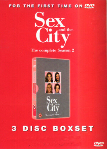 1 of 1 - Sex and the City: Series 2 DVD (2002) Sarah Jessica Parker ***NEW***