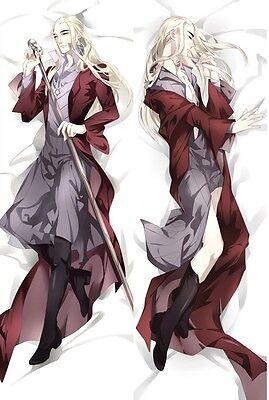 The Hobbit Elf Thranduil Handsome Male Dakimakura Pillow Cover Case Hugging Body