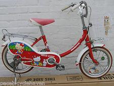 "Bridgestone Hello Kitty 14""wheel Campagnolo Phil Wood Child's Bicycle '76 tennis"