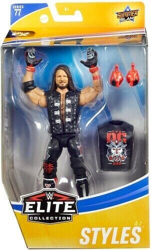 Mattel-WWE Wrestling Elite Series 77-AJ Styles-Neuf