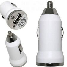White Car Charger for Apple iPhone 5 and 5+ phone Brand NEW
