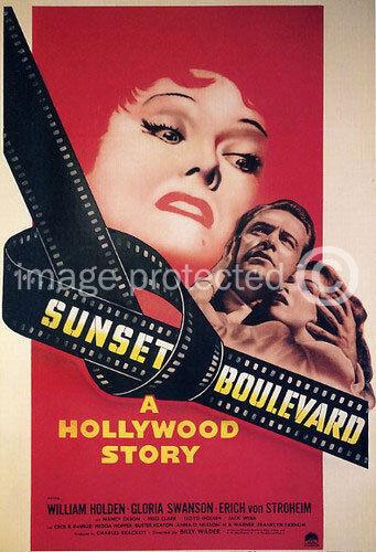 Sunset Boulevard Vintage Movie Poster 24x36