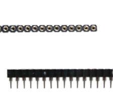 10pcs 40pin Strip Tin PCB Female IC Breakable Single Rows Round Headers Sock PS*