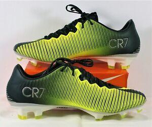 30af6910b Nike Mercurial Vapor XI CR7 FG Ronaldo Volt Soccer Cleat Sz 6.5 NEW ...