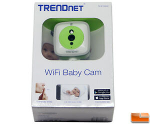 Trendnet 720p Hd Wireless Cloud Baby Cam Ip Network