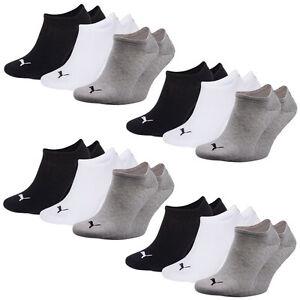 12 Paar Puma Füsslinge, Sneaker, Socken, Sport, Freizeit