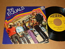 """Equals """"Rub A Dub Dub"""" Italian President P/C 45"""