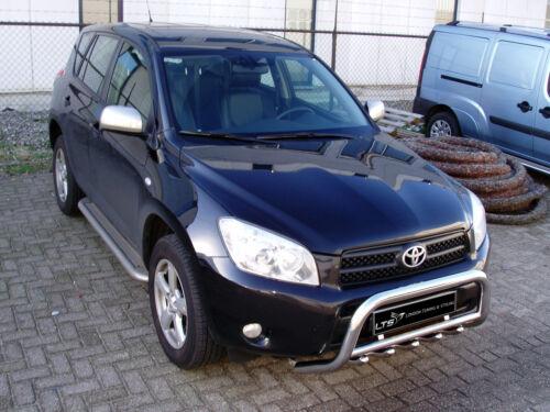 Toyota RAV4 2006-2012 chrome essieu nudge a-bar bull bar
