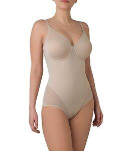 fa565e339412c New TC Fine Shapewear Firm Control Body Briefer Nude 4221 Size 36D ...