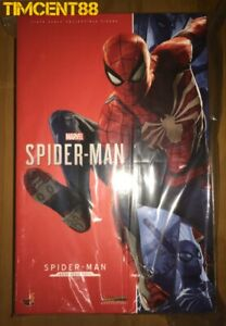 Ready-Hot-Toys-VGM31-Marvel-039-s-Spider-Man-Advanced-Suit-1-6-Figure-New