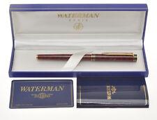 Waterman Exclusive stilo lacca tartaruga tortoise FP 18k nib exc+++ in box