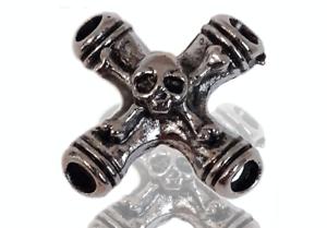 Einschnuerer-6x-Kutte-Skull-Bones-Piraten-Bones-Deadhead-Totenkopf-Skull-DW0071