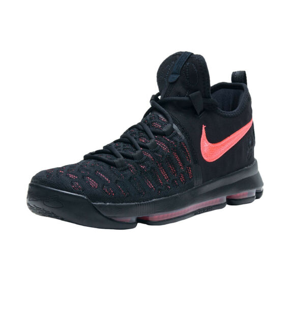 """newest 783b2 f5a69 NIKE ZOOM KD9 PRM 881796-060 Black Hot Punch Men s Sneakers """"Aunt Pearl"""""""