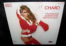 CHARO (Mamacita) Donde Esta Santa Claus? (1978 White Label Pic Cvr Promo 12inch)