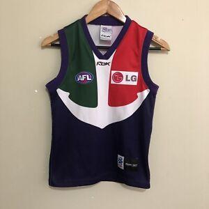 Fremantle-Dockers-Reebok-2007-AFL-Guernsey-Jumper-Youth-Boys-Large