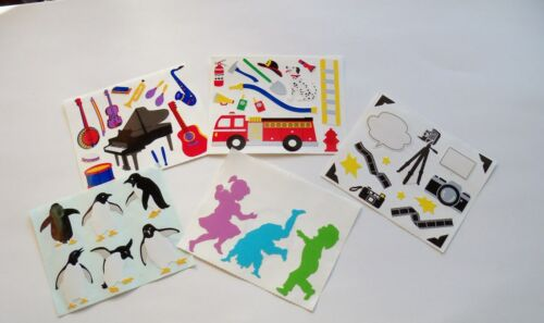 New. Mrs Grossman/'s 4 x 3.25  Block Stickers Variation Theme #2-U Chose One
