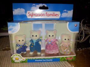 2019 DernièRe Conception Sylvanian Families Persian Cat Family-neuf, Scellé, Emballés Et Rare-afficher Le Titre D'origine