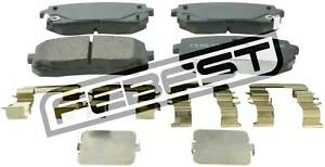 1201-H1R-Genuine-Febest-Pad-Kit-Disc-Brake-Rear-Kit-58302-4HA50-58302-4HA00