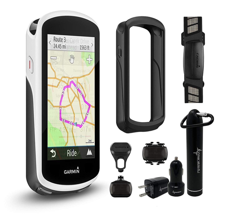 Garmin 1030 Con Estuche Silicona usable Edge 4U potencia Bundle, dispositivo o Performer