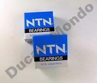 NTN rear sprocket carrier roller bearings pair for Ducati 851 91-92 888 93-96