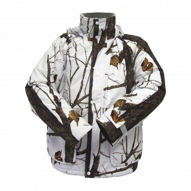 NEW Wildfowler Outfitter Men's  Insulated Parka, Wild Tree Snow, X-Large  factory direct