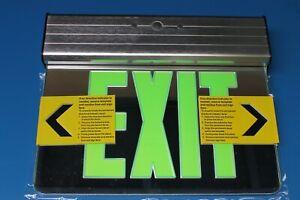 Elite-Lighting-USA-ELX-608-G-Edge-Lit-LED-Exit-SIgn-Emergency-Dual-Circut-2-Face
