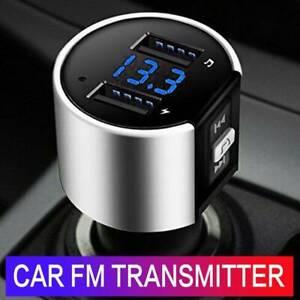 Kit-chargeur-USB-double-kit-mains-libres-Bluetooth-voiture-lecteur-radio-MP3-SC