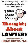 Thoughts about Lawyers by Heinz Dinter (Paperback / softback, 2012)