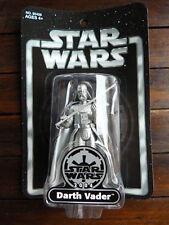 Star Wars 2004 - Darth Vader (Dark Vador) argent - Sous blister -