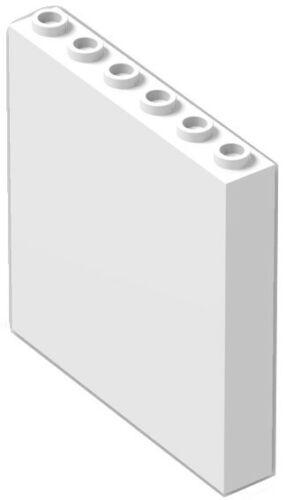 ☀LEGO 4x New WHITE Wall Elements 1x6x5 Window Building Bulk lot City Town