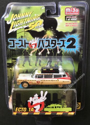 JOHNNY LIGHTNING Ghostbuster Ecto 1A 1959 Cadillac Eldorado Dirty Version 1:64