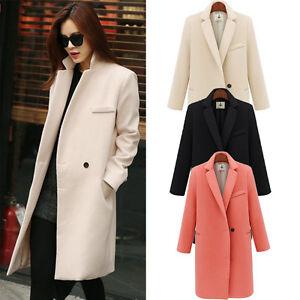 Women-Winter-Warm-Woollen-Slim-Trench-Peacoat-Parka-Coat-Jacket-Outwear-Overcoat