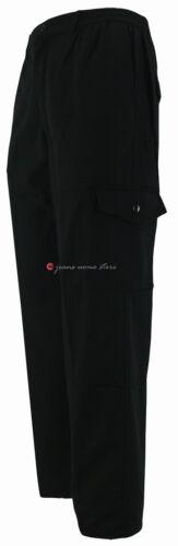 Imbottito Pantalone Inverno Blu Per Foderato Tasconi Verde Nero Lavoro X Grigio AtatWr