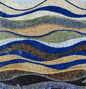 Details About Stone Mosaic Design Catch The Wave Patterns Tile