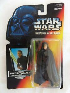 STAR WARS Power of the Force Kenner 1996 BRAND NEW Jedi Knight Luke Skywalker
