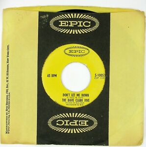 DAVE-CLARK-FIVE-Don-039-t-Let-Me-Down-Satisfied-With-You-7IN-1966-ROCK-NM
