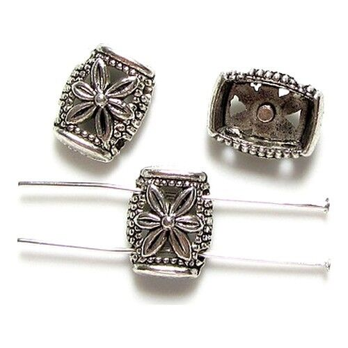 5 Intercalaires spacer /_ RECTANGLE 2 rangs 14.5mm /_ Perles apprêts bracel /_ A163